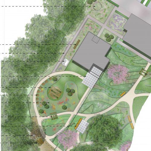 Dagbesteding De Buitenhof gaat verhuizen naar De Duynsberg in Tilburg tekening